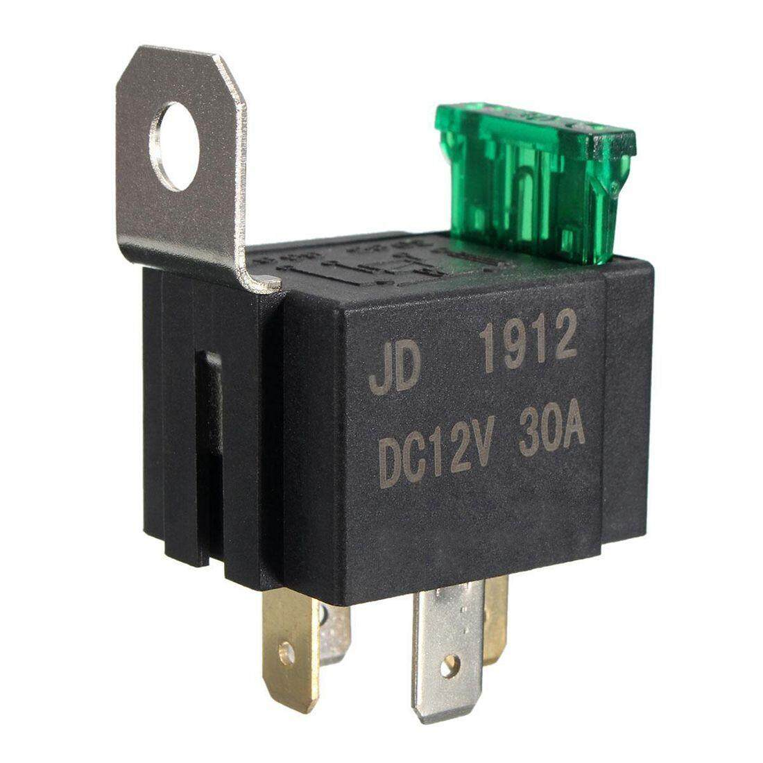12v 30a 4 Pin Spst Auto Vehicle Relay Normally Opener Changeover Switch Switch By Benefitwen.