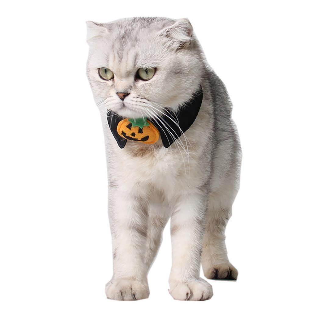 Nơ Đeo Cổ Sáng Tạo Bí Ngô Thiết Kế Mèo Cà Vạt Mèo Cổ Trang Trí Trang Phục Hóa Trang Halloween cho Mèo - 1