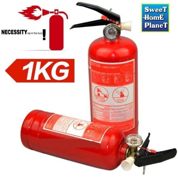 1kg Fire Extinguisher Automotive Fire Stop Dry Powder For Automotive Car & Home Office Shop Restaurant