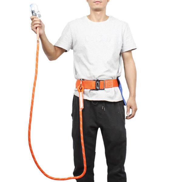 JOHA pinggang satu pinggang tunggal besar cangkuk ringan kerja udara tali pinggang insurans tali