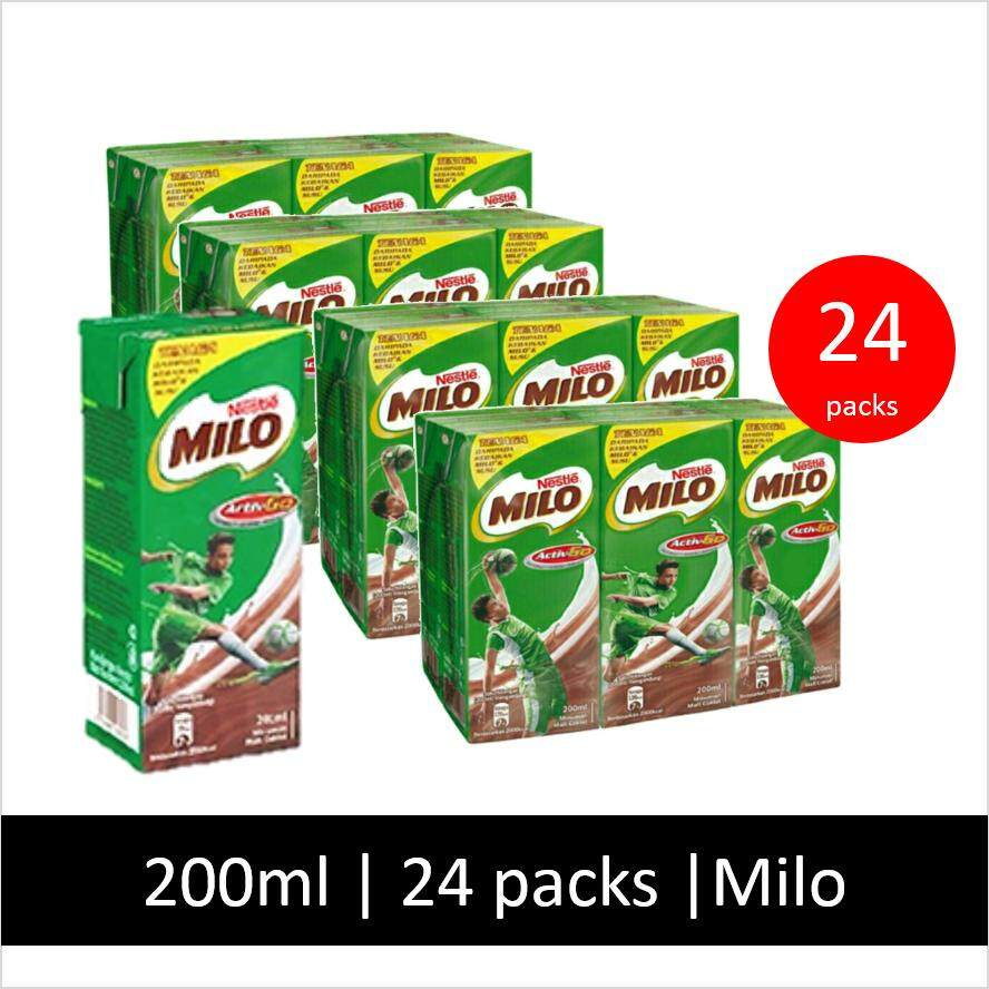 Milo Activ-Go Uht 24 Packs, 200ml (buy Rm50 Free Rm50) By Ok Borong.