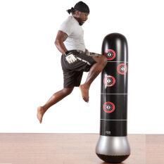 Tập Thể Dục Dành Cho Người Lớn Trẻ Em Bơm Hơi Dọc Cột Boxing Bơm Hơi Túi Cát Dày 1.6 Mét Cao