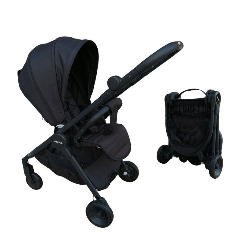 Lightweight Stroller Travel Portable Pram Reversible Pushchair Eu Standard Singapore
