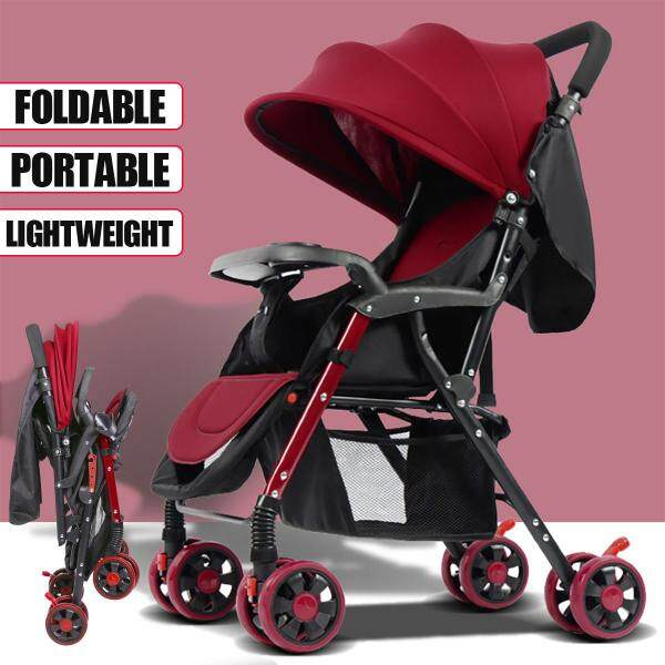 Fly Kids Pram Travel System 3 in 1 Combi Stroller Buggy Baby Child Pushchair Foldable Pram Pushchair Newborn Baby Stroller Buggy Carriage Infant Travel Car Singapore