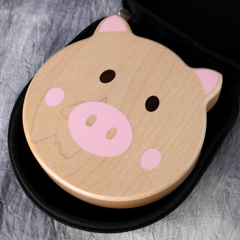 Hanks Mall Kimi Cartoon Pig Shaped Kalimba Mbira Calimba Maple Thumb Piano Malaysia