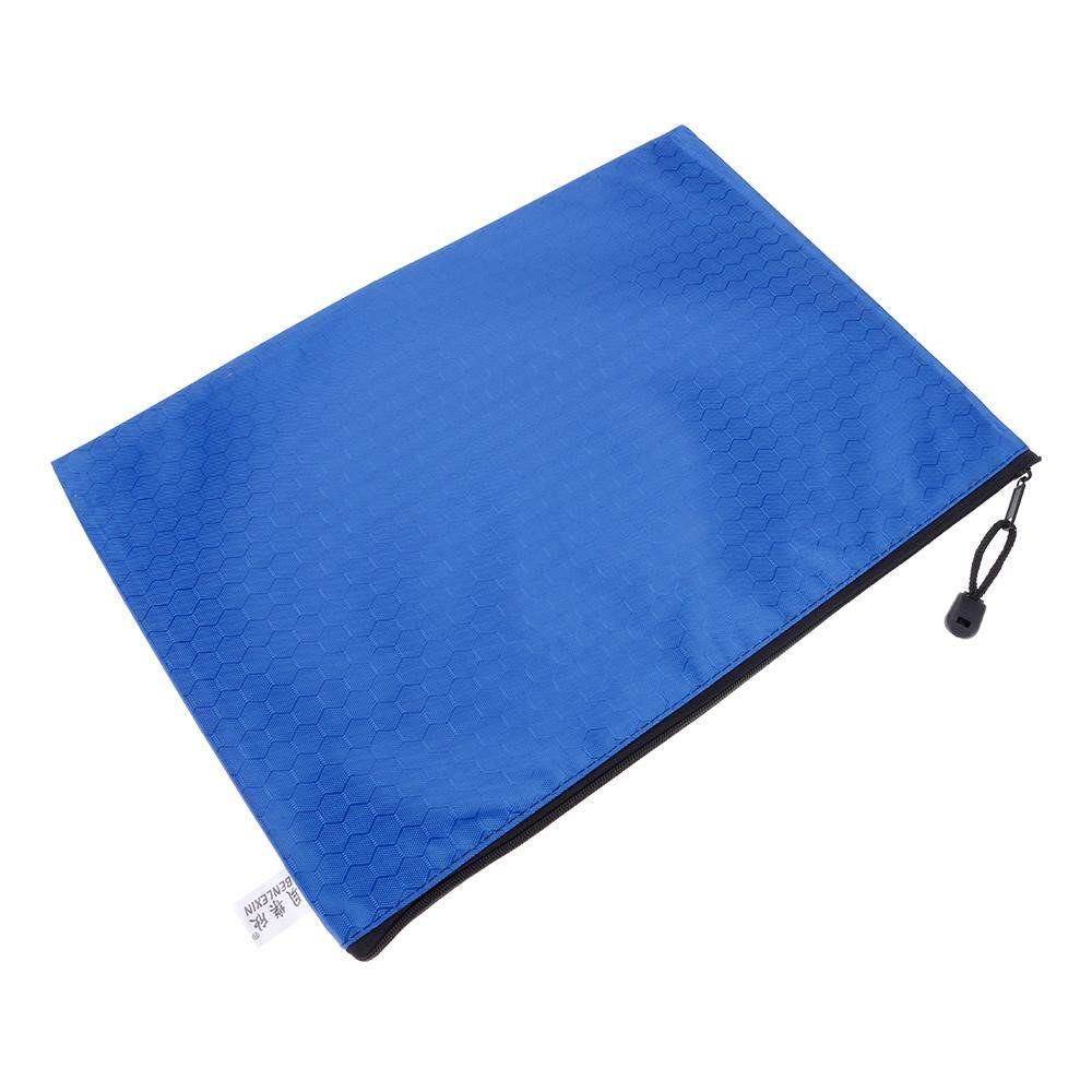 Vanker-A4 File Storage Zipper Document Storage Bags Football Pattern Design File Bags