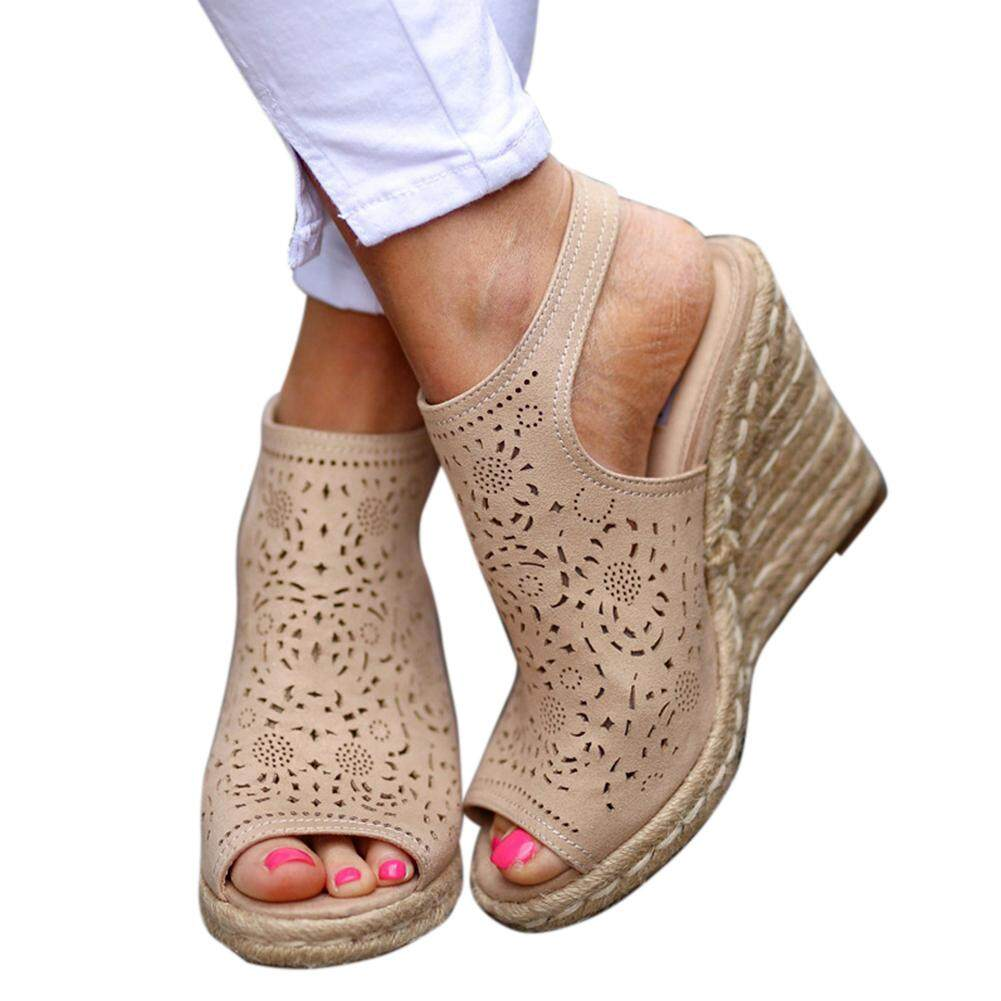 44c3bd5751 OEM Wedge Sandals price in Malaysia - Best OEM Wedge Sandals   Lazada