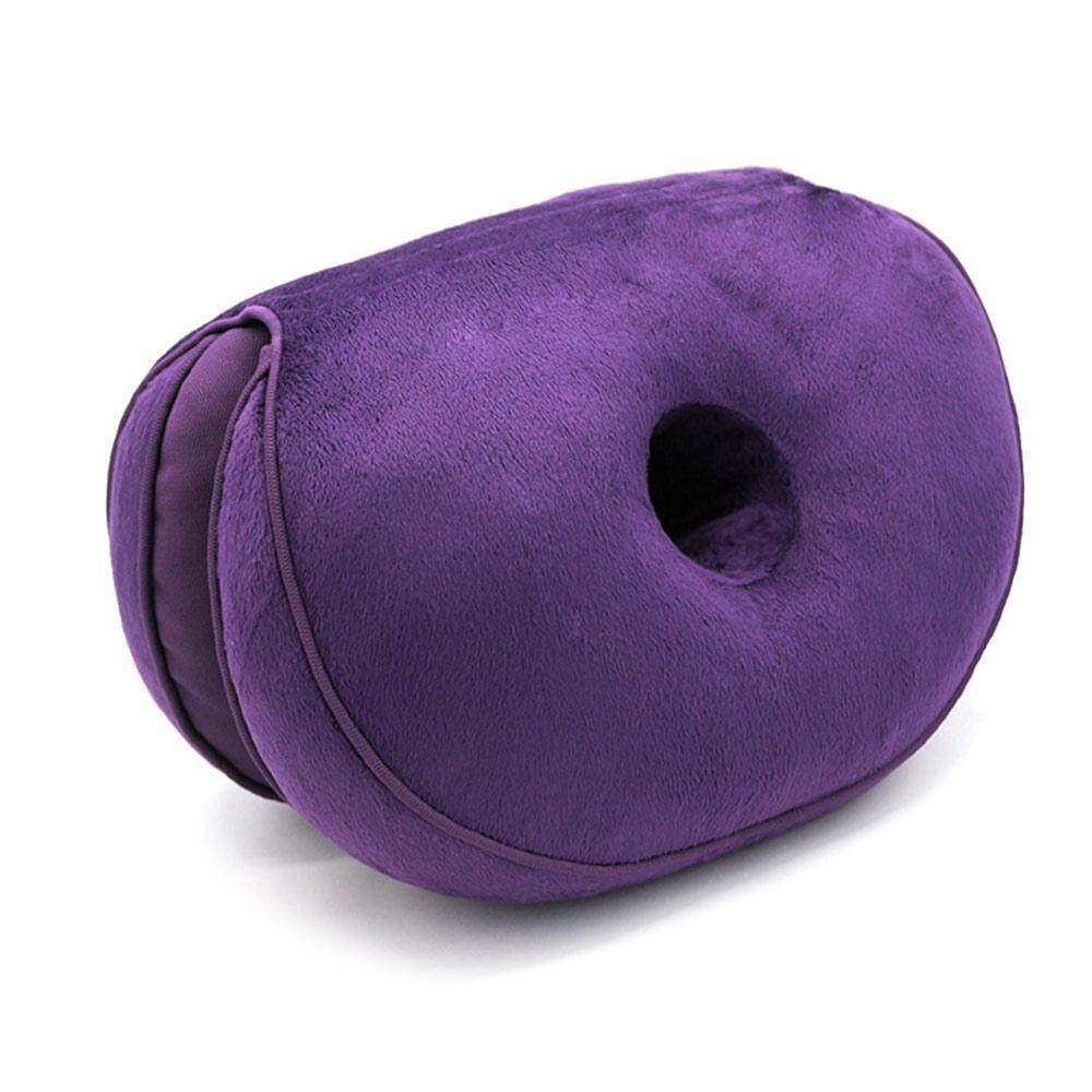 Aolvo Dual Comfort Cushion Lift Hips Up Seat Cushion for Pressure Relief, Fits in Car Seat, Home, Office