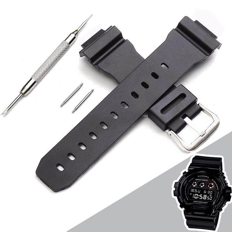 Replacement Silicone Watch Band Strap Compatible G Shock 6900 Ear Batch Needle Malaysia