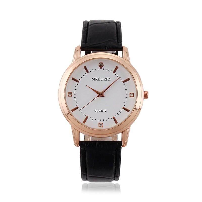 DOTEC MREURIO Mens Watches Top Brand Luxury Casual Quartz Leather Watch Men Wristwatch Mens Clock + 1 PCS Free Gift (Multi-layer Hand-wove Mens Casual Leather Bracelet ) Malaysia