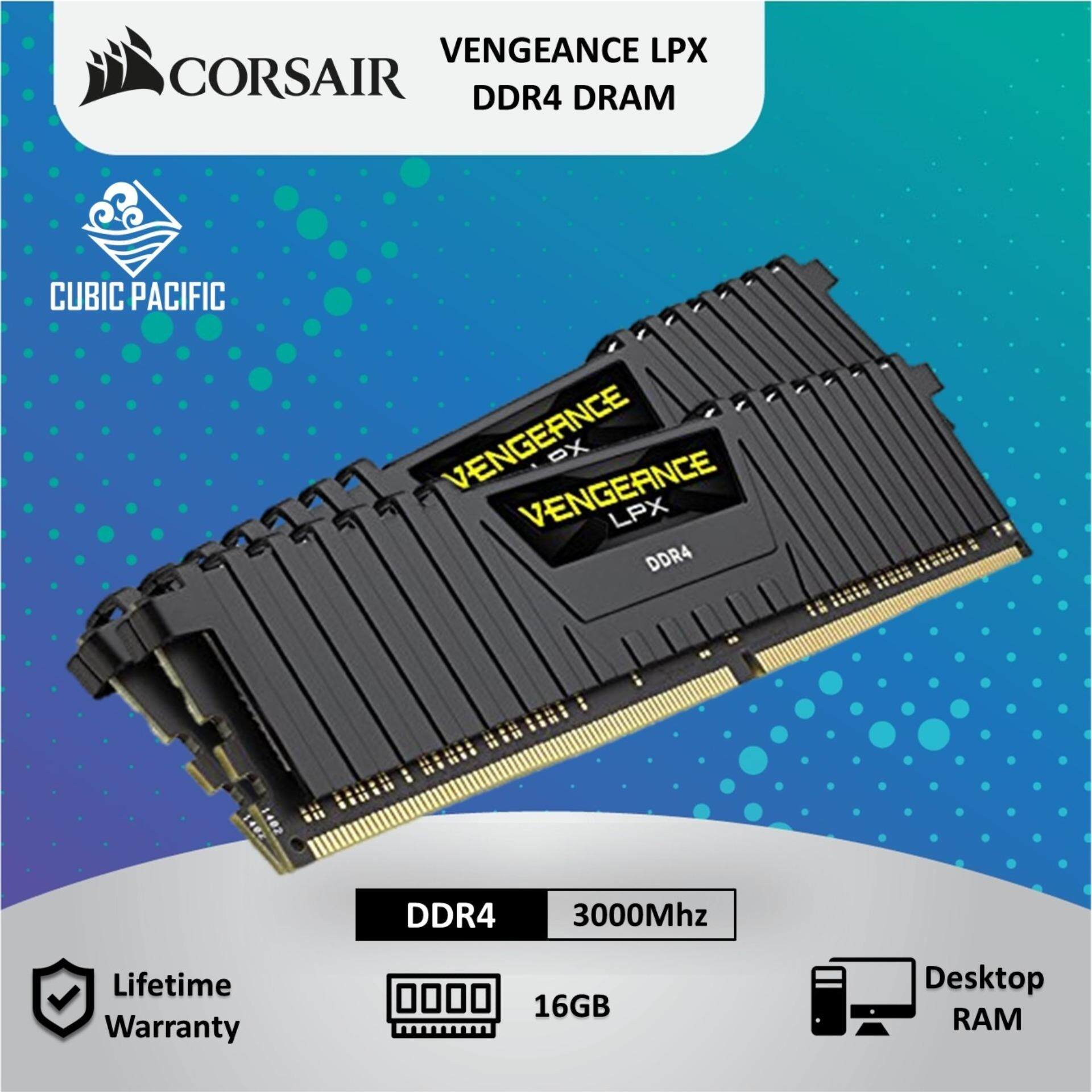 Corsair Computer Component - RAM for the Best Prices in Malaysia