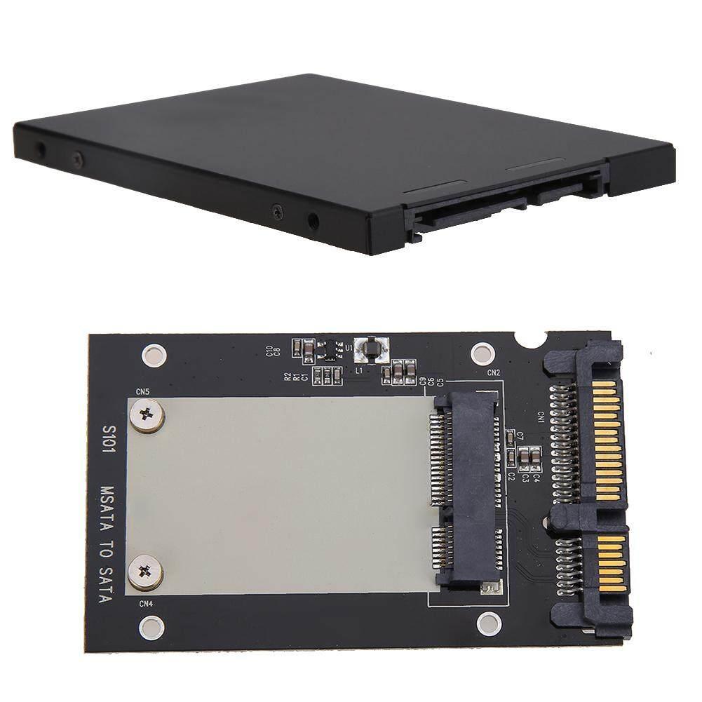 [Vktech] S101 Enclosure mSATA SSD to 2.5\ SATA Sata III Convertor Adapter Card SSD Case Malaysia