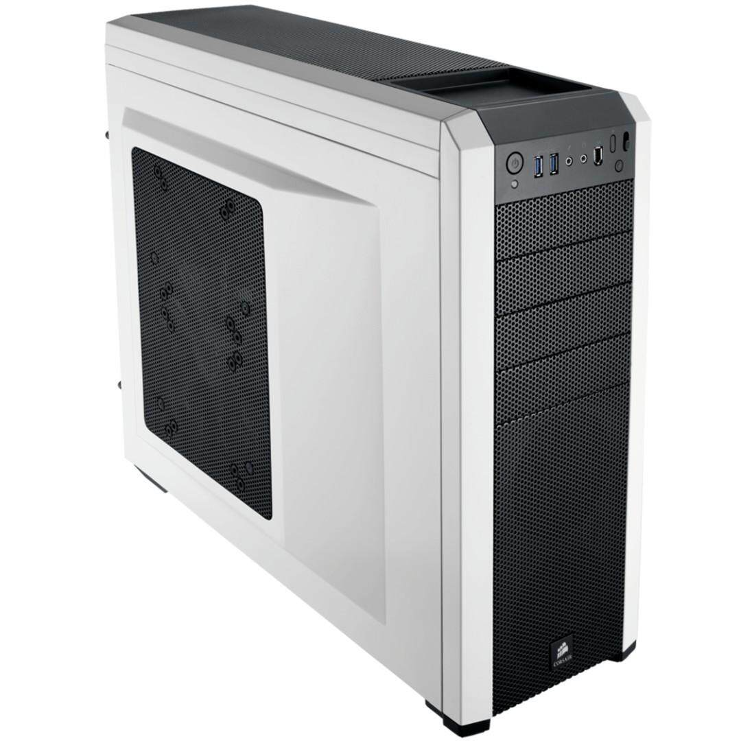 Corsair Carbide 500R (white) Mid-Tower Desktop Computer Case CC-9011013-WW Malaysia