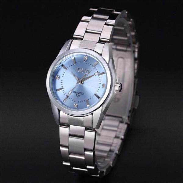 Nary Watch For Women Fashion Simple Stainless Steel Strip Waterproof Quartz Watch LadyS Casual Watch Business Watch 124 Malaysia