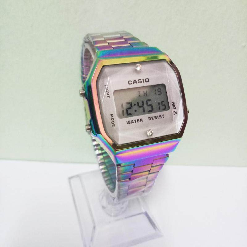 CASI0 A168 Unicorn Stainless Steel Digital Watch Malaysia