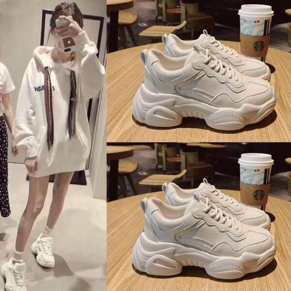 VESTLINE Giày Nữ, Giày Thể Thao Nữ Phong Cách Hàn Quốc Giày Đế Xuồng Giày Thể Thao Nữ Giày OLdPAPA Thời Trang, 2019 Mới