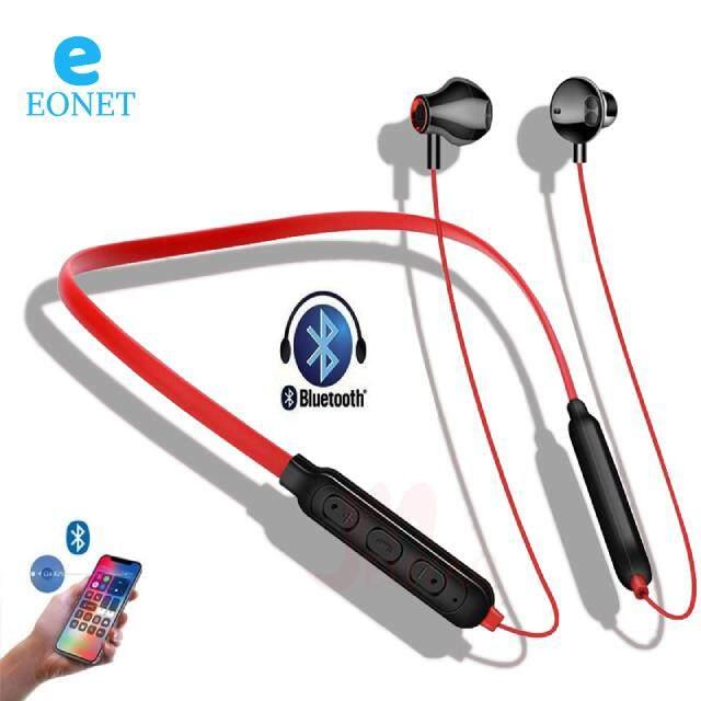 Eonet S9 Plus สเตอริโอชุดหูฟังบลูทูธหูฟังหูฟังเอียบัดไร้สายหูฟังไร้สายกีฬาหูฟังแฮนด์ฟรีหูฟังสำหรับวิ่งพร้อมไมโครโฟนสำหรับโทรศัพท์มือถือ.