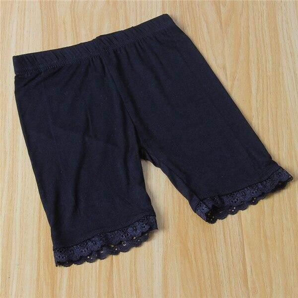 Summer Girls Safety Shorts Pants Underwear Leggings Girls Boxer Briefs Short Beach Pants For Children 3-13 Years Old