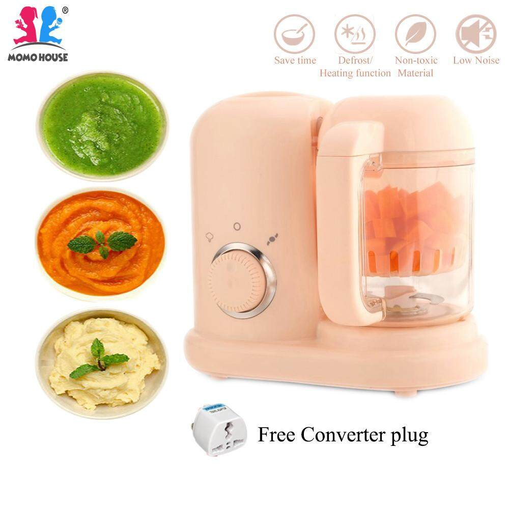 (4 in 1) Baby Food Processor Blender - Steam & Blend image on snachetto.com
