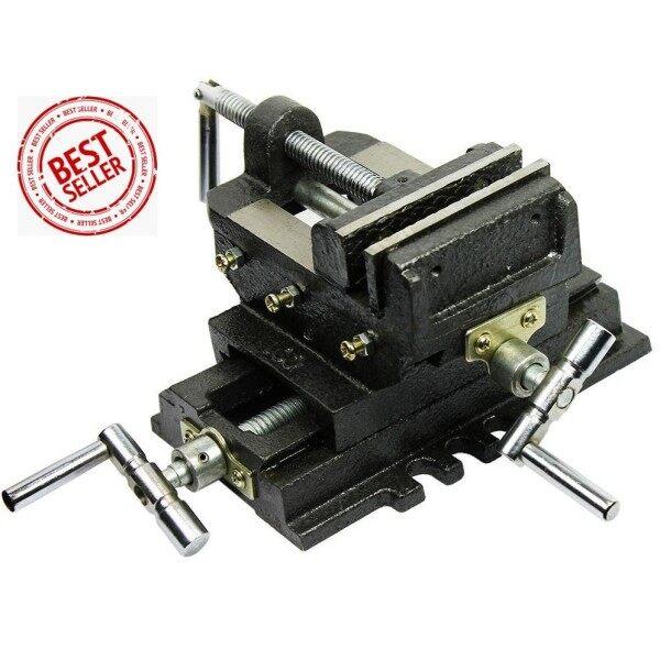 PRC Cross Slide Drill Press Vice 4  (NEW)