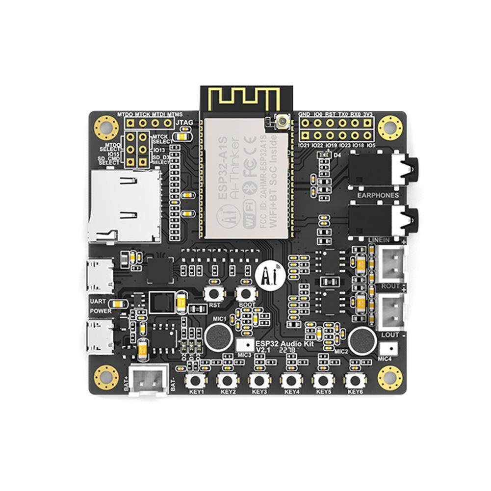 Small Low Power Development Board Easy Embed Bluetooth Integrated Serial Port To Wifi Dual Core For ESP32 Audio Kit