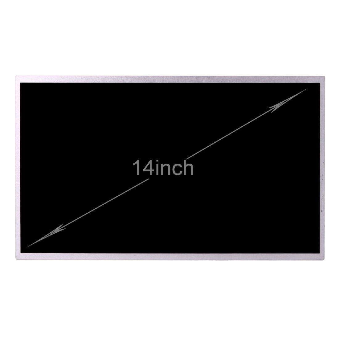 B140XW01 14 inch 16:9 High Resolution 1366 x 768 Laptop Screens LED TFT Panels