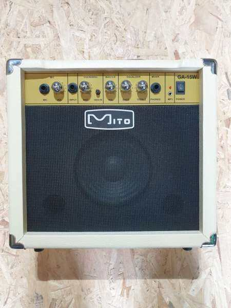 Mito GA-15W 15w White Electric Guitar Amplifier [Sound From Germany] # Yamaha Ibanez Gibson Fender Epiphone Taylor Malaysia