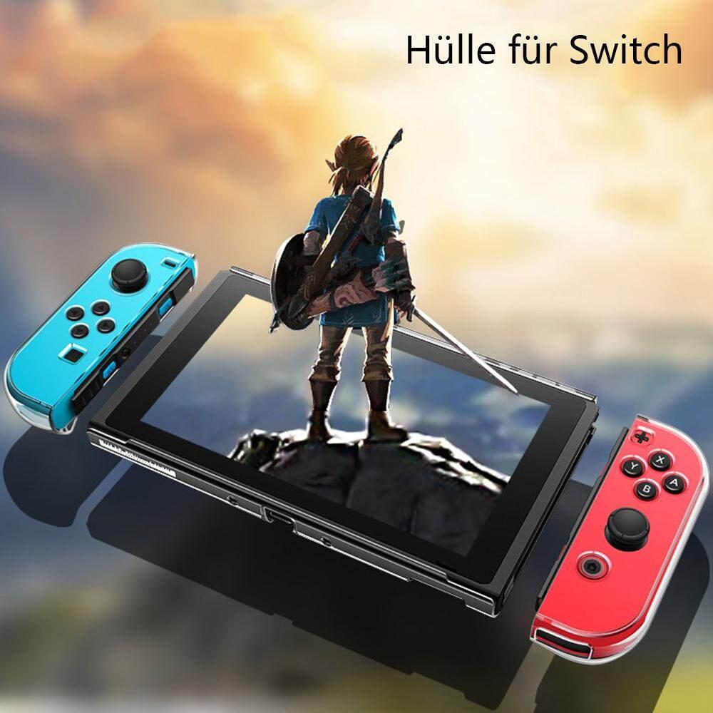 Giá WILLKEY 2019 Cho bộ chuyển đổi Nintendo Trong Suốt cứng Bảo vệ Chống Sốc Ốp lưng