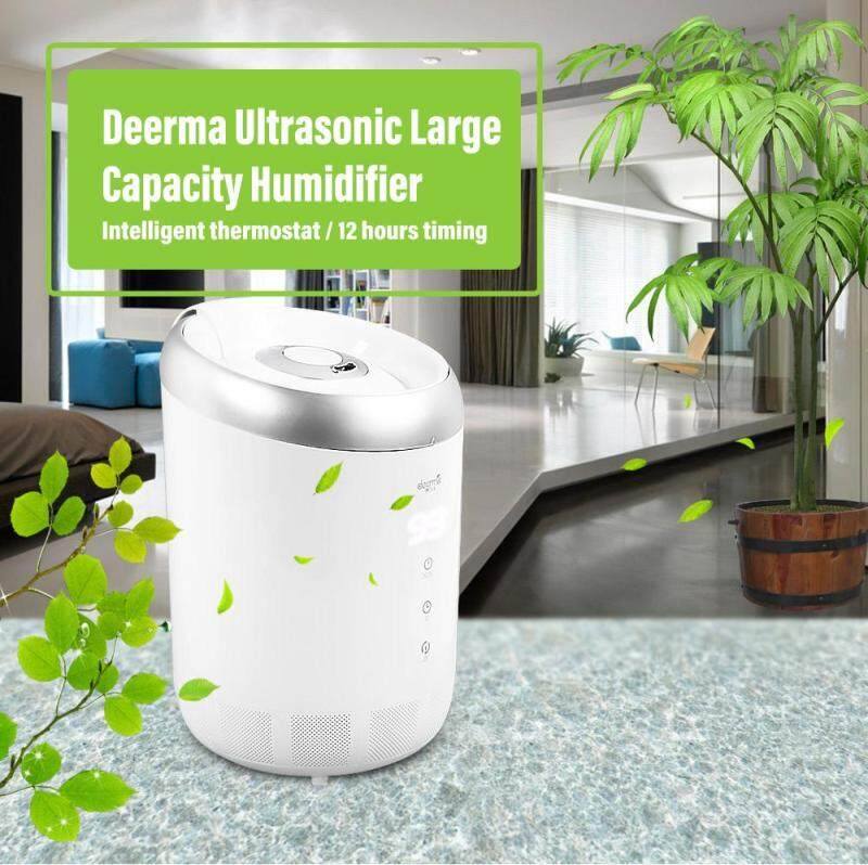Deerma DEM - ST600 Ultrasonic Intelligent Humidifier 4L Large Capacity Atomization Humidifier For Office Home Yoga room Meeting room Singapore