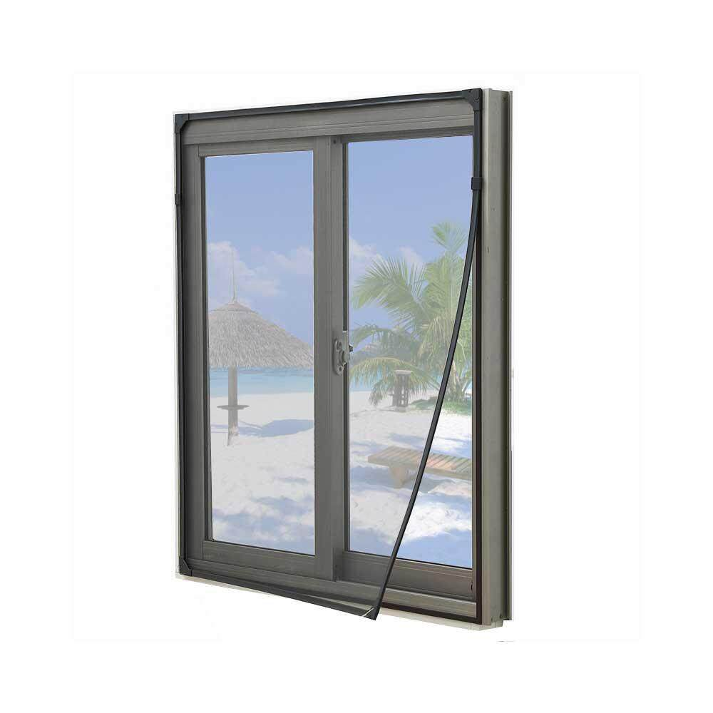Aolvo Window Screens, Window Mesh DIY Fiberglass Screen Door Replacement  Mesh Mosquito Net Anti Bug Insect Screen