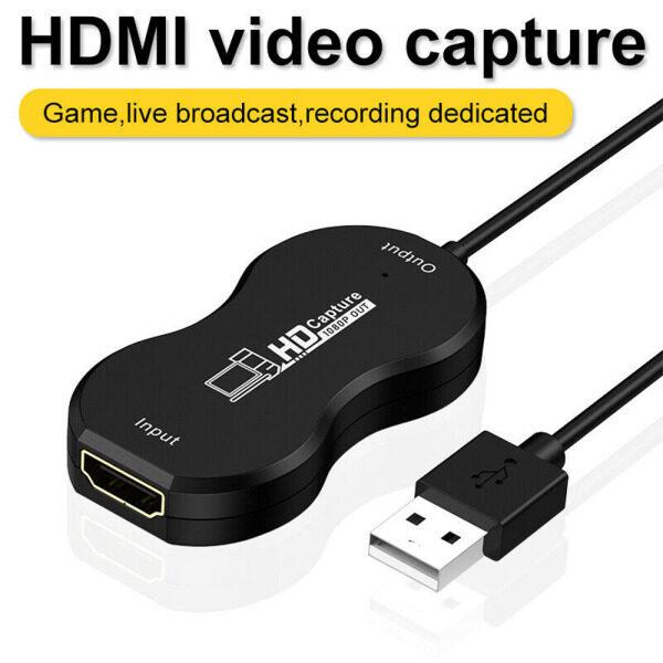 Bảng giá Bộ Chuyển Đổi Cáp Video Quay Video Độ Nét Cao HD 1080P HDMI Sang USB2.0, Capture Card Chuyển Đổi Trò Chơi Capture Card Phong Vũ