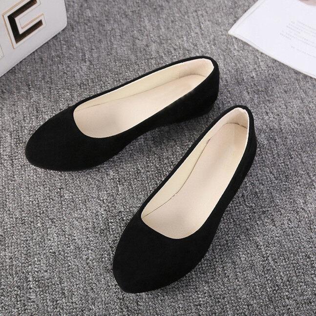Alyson Giày Lười Cỡ Lớn Cho Nữ Da Báo Giày Đơn Giản Thường Ngày Đế Bằng Nông Thoải Mái giá rẻ