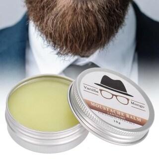 AngelHouse 30 Gam Mens Beard Grooming Sáp Mustache Giữ Ẩm Sáp Cho Râu Mịn Tạo Kiểu Chăm Sóc Cạo Râu thumbnail