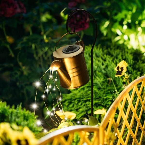 Samber, Đèn Tưới Nước Năng Lượng Mặt Trời Trang Trí Sân Vườn Có Thể Đèn Pha