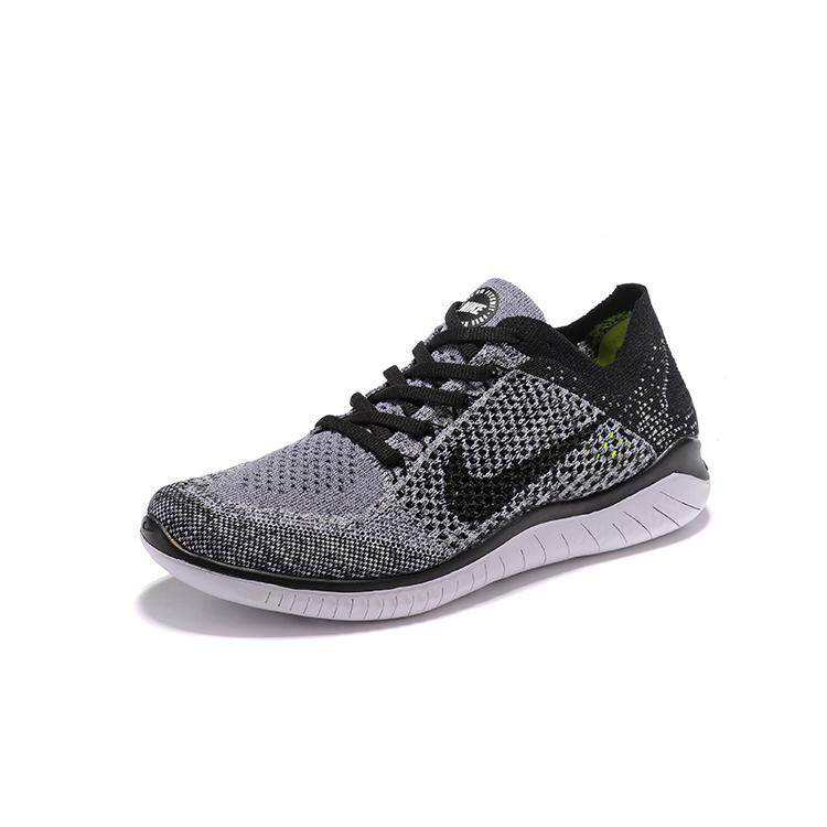 best service d3c8a 0a0d3 NIKE FREE FLYKNIT 5.0 Men's Running Shoes, New High Quality Sports Shoes  Breathable Lightweight Shock Absorbing grey and black