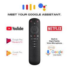 Bàn phím tích hợp chuột bay 2.4G không dây, con quay hồi chuyển IR điều khiển từ xa bằng giọng nói dành cho máy tính, TV, Android – INTL