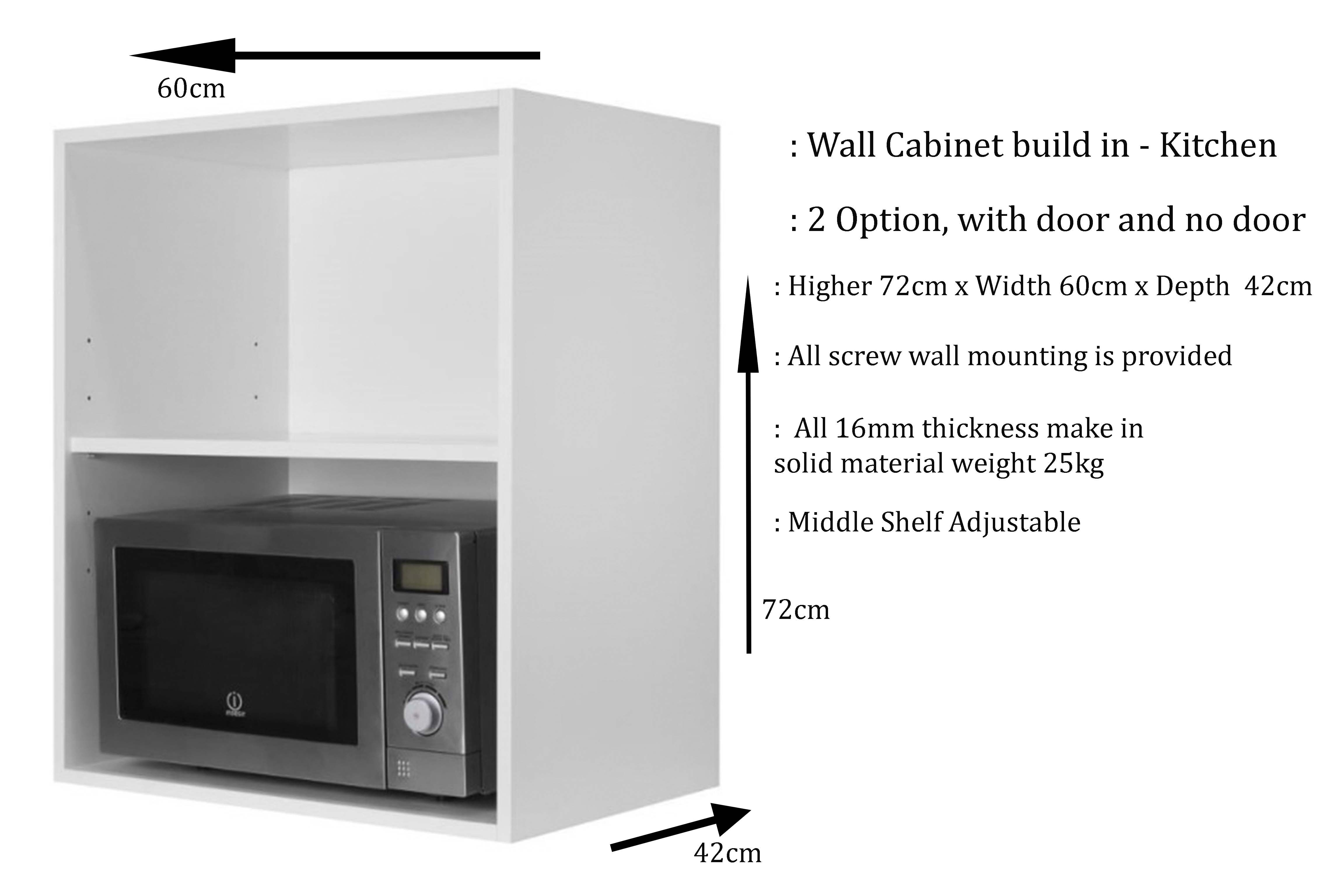 Kitchen Microwave Wall Cabinets Buy Sell Online Kitchen Organizers With Cheap Price Lazada