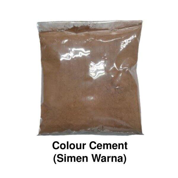 Simen Warna / Colour Cement Decoration & Renovation ( Brown ) - 2kg