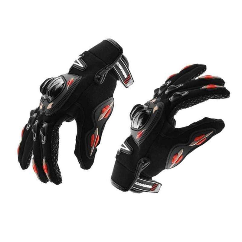 GoFast Summer Full Finger Motorcycle Gloves Motocross Protective Non-slip Motorbike Racing Gloves