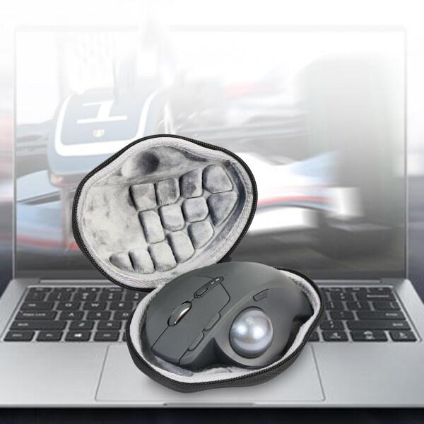 sgtzem shop Portable Zipper Anti-scratch EVA Wireless Trackball Mouse Pouch Carrying Case for Logitech M570/MX Ergo Advanced