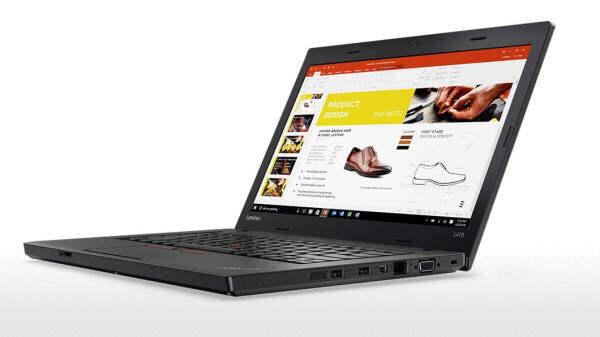 (Refurbished) Lenovo Thinkpad L470 (Intel Ci5-6th Gen / 8GB Ram / 500GB HDD/ 14Inch / Cam / Win 10Pro Malaysia