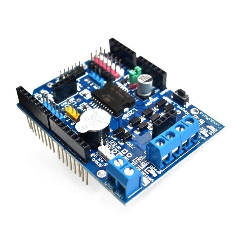 L298P Motor Driver Module H-bridge Drive Shield Expansion Board High-Power DC Stepper Motor Controller For Arduino