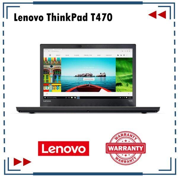 Laptop Lenovo ThinkPad T470 i7 RAM 8GB Refurbished Set Malaysia