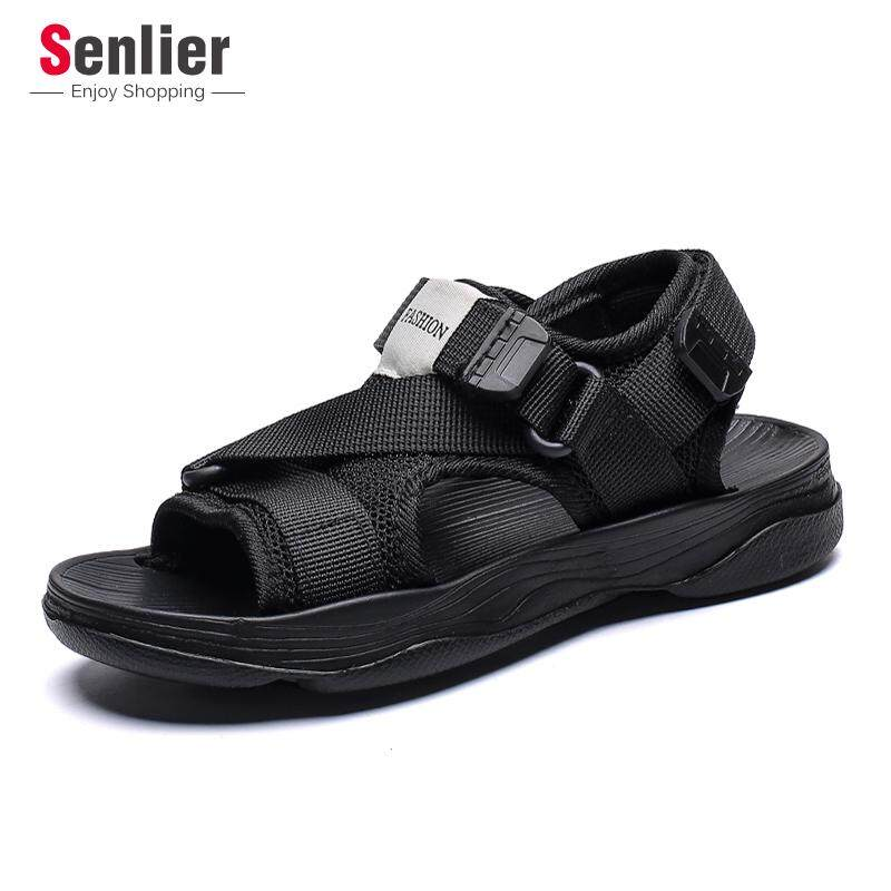 Senlier Fashion Children Shoes Boys Outdoor Sandals Sport Sandals Kids Casual Beach Slippers Soft Footwear(size:30-34) By Longze.