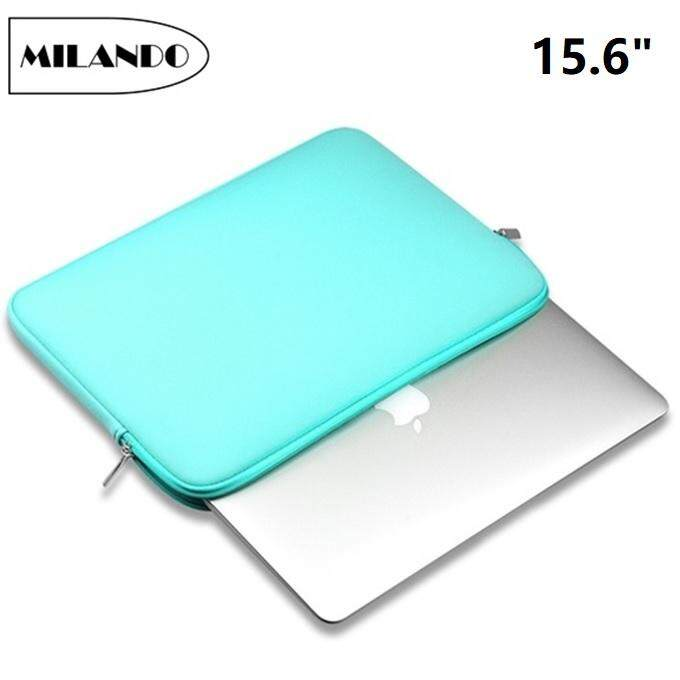 (15.6-Inch) Milando Sleeve Case Bag Notebook Cover Protect Case Thin Laptop With Zipper Closure (type 1) By Milando.