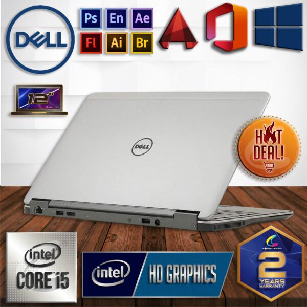 DELL LATITUDE E7240 ULTRABOOK - 4TH GENERATION INTEL CORE I5-4300U HASWELL / 8GB DDR3 PC3-L RAM / 256GB SSD STORAGE / WINDOW 10 PRO / 2 YEARS WARRANTY [ LAPTOP ] Malaysia