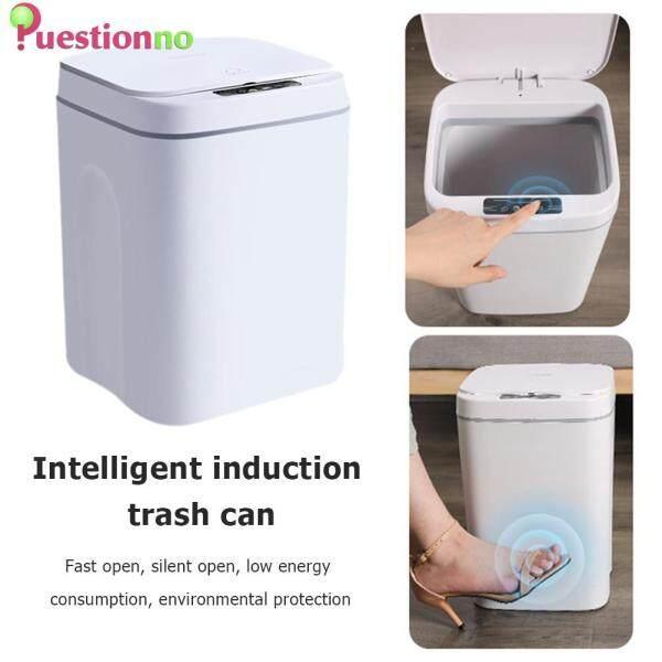 Thùng rác điện thông minh cảm biến tự động 14L cho văn phòng - INTL
