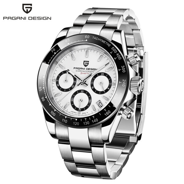 2020 New PAGANI DESIGN Brand Luxury Watches For Men Fashion Quartz Stainless Steel Wristwatch Men Chronograph Watch Date Men PD-1644 Malaysia
