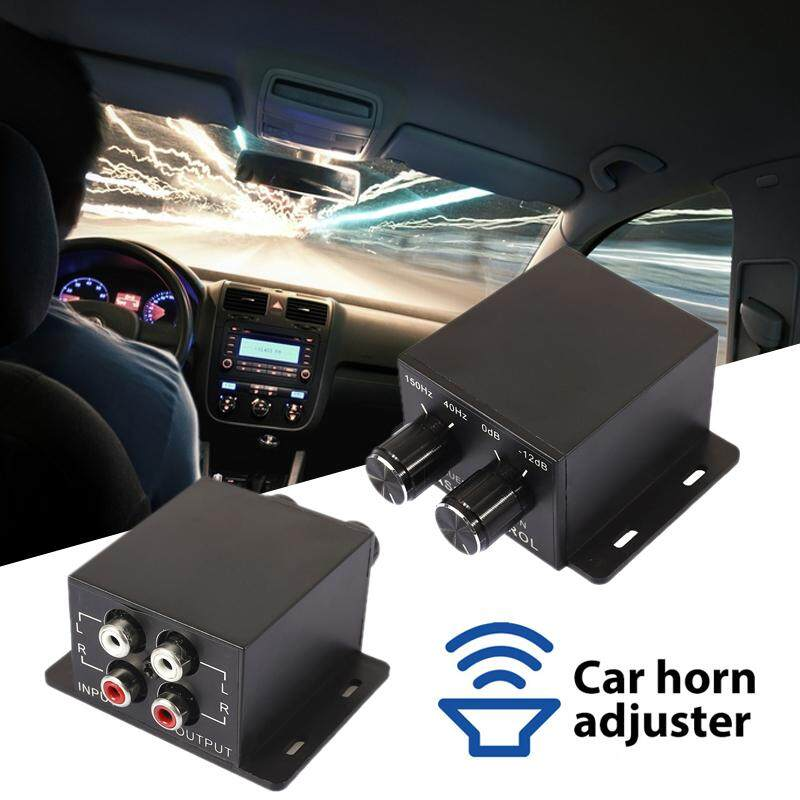 Angel Store Car Equalizer Amplifier Controller Universal Volume Control  Subwoofer Frequency 150Hz - 40Hz