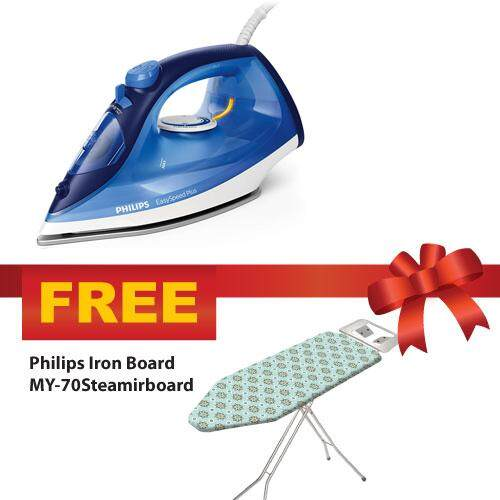 Philips Easyspeed Steam Iron Gc2145 (gc2145/26) Plus Free Gift By Blipmy